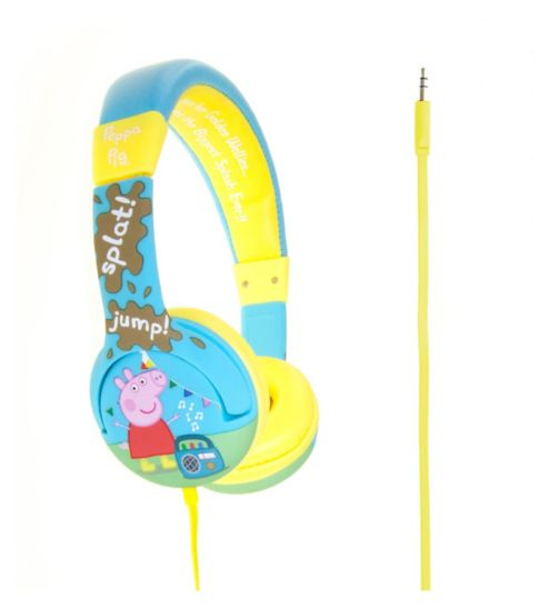 Peppa Pig Muddy Puddle Junior Headphones