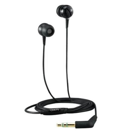 Sennheiser CX475 Headphones- Black