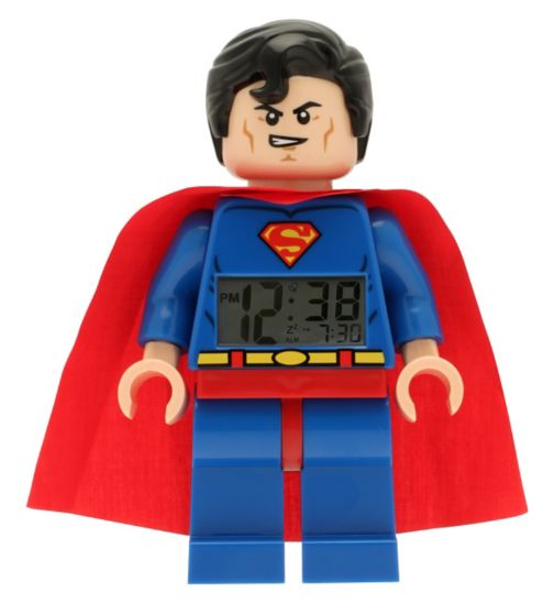 LEGO DC Superheroes Superman Clock