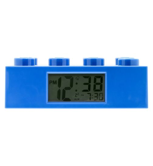 LEGO Brick Clock- Blue