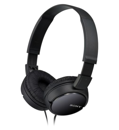 Sony ZX110 AP Headphones- Black