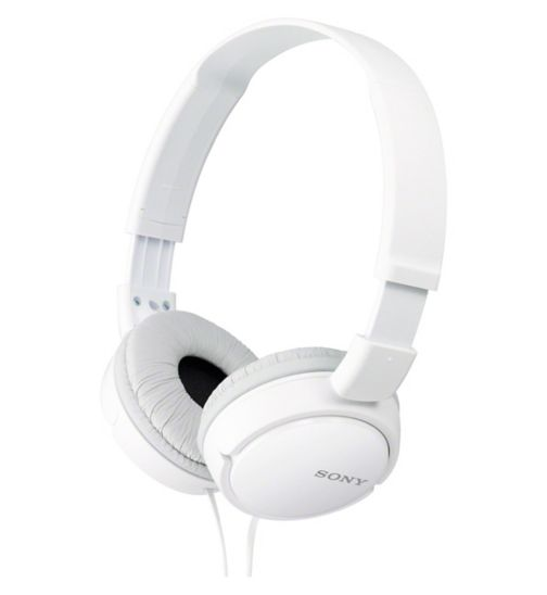 Sony ZX110 AP Headphones - White