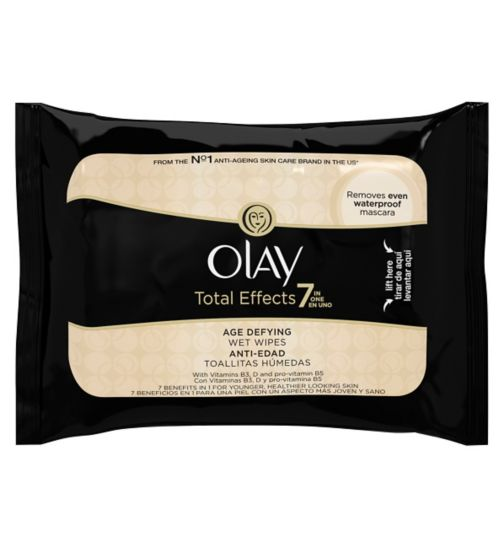Olay Total Effects 7in1 Age-Defying Wet Wipes 20s