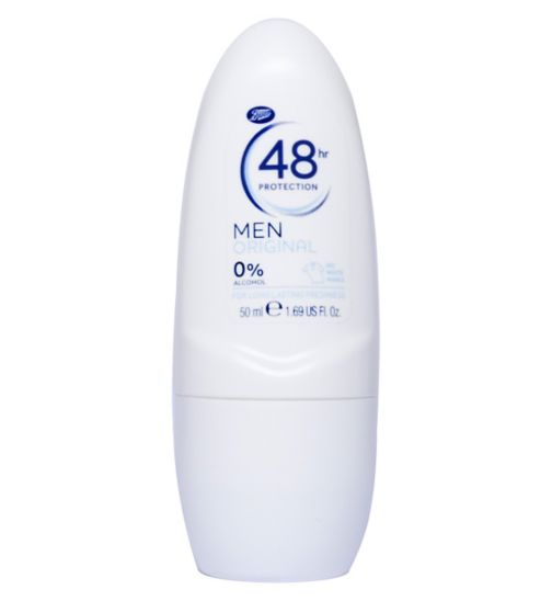 Boots Mens Original Deodorant 48 Hour Roll On 50ml