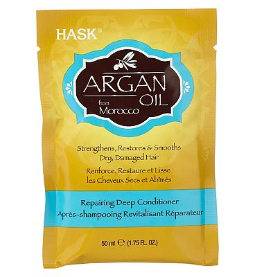 Hask Argan oil from Morocco repairing deep conditioner sachet 50g
