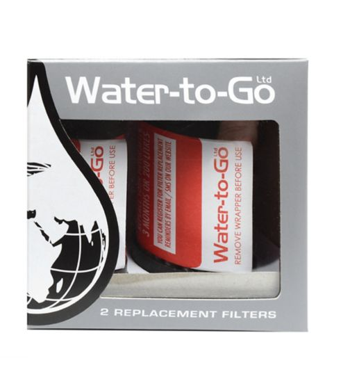 Water To Go Replacement Filter - 75cls (2 Pack)