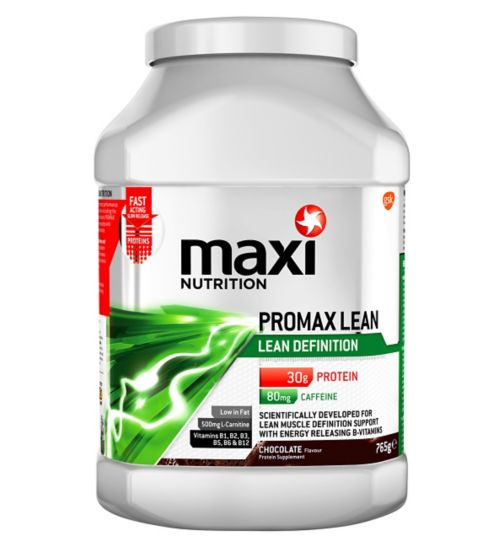 MaxiNutrition Promax Lean Definition Protein Chocolate - 765g