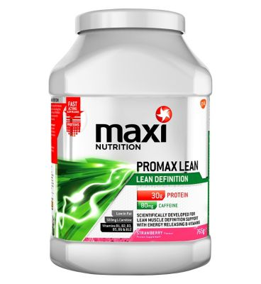 Promax lean strawberry