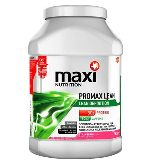MaxiNutrition Promax Lean Definition Protein Strawberry - 765g