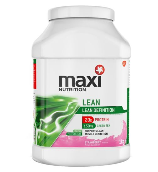 MaxiNutrition Lean Protein Powder Strawberry Flavour - 1kg