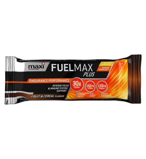 MaxiNutrition Fuelmax Plus Endurance Performance Fruit & Cereal Bar - 45g