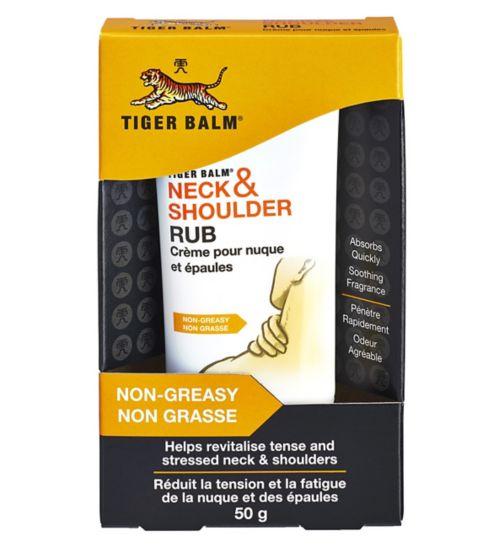Tiger Balm Neck and Shoulder Rub 50g