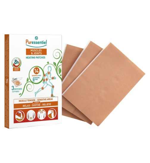 Puressentiel Muscles & Joints Heating Patches - 3 Patches