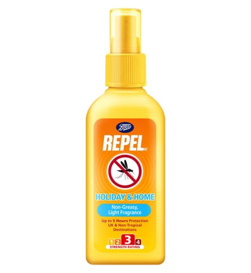 Boots Repel Light Fragrance Insect Repellent Spray 100ml