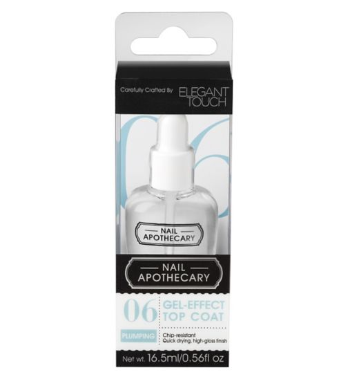 Nail Apothecary 06 Gel Effect Top Coat by Elegant Touch