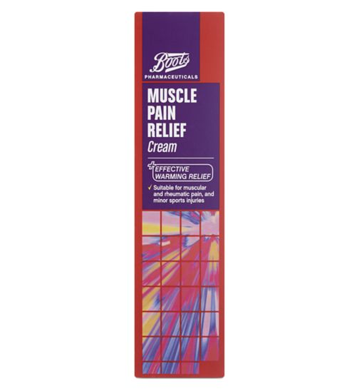 Boots Muscle Pain Relief Cream - 35g