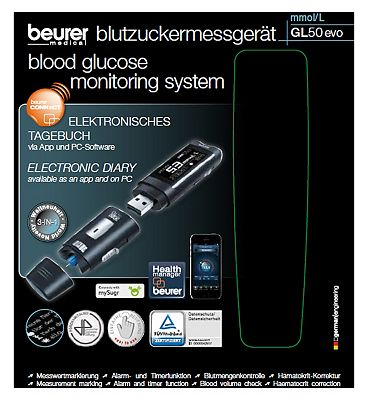 Beurer GL50 3 in 1 Blood Glucose Monitor