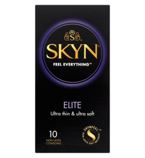 Mates Skyn Elite 10 Premium Non-Latex Condoms