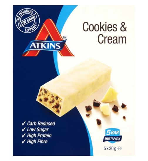 Atkins Advantage Cookies & Cream 5 x 30 g