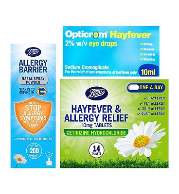 Image of Allergy & Hayfever Bundle - Cetirizine