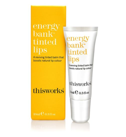 This Works energy bank tinted lips 10ml