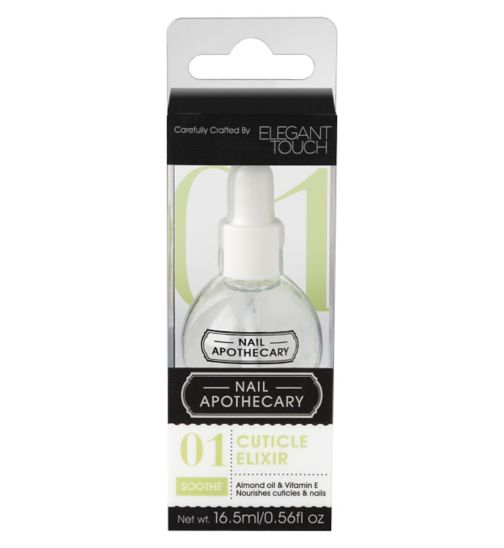Nail Apothecary 01 Cuticle Elixir Nail Treatment by Elegant Touch