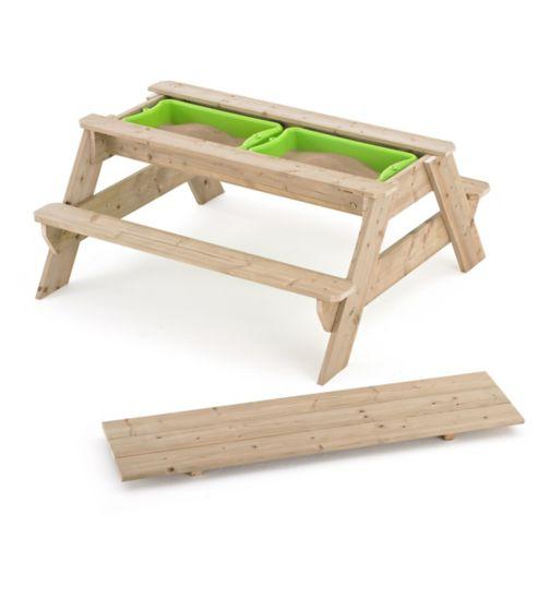 TP Toys Deluxe Picnic Table Sandpit FSC