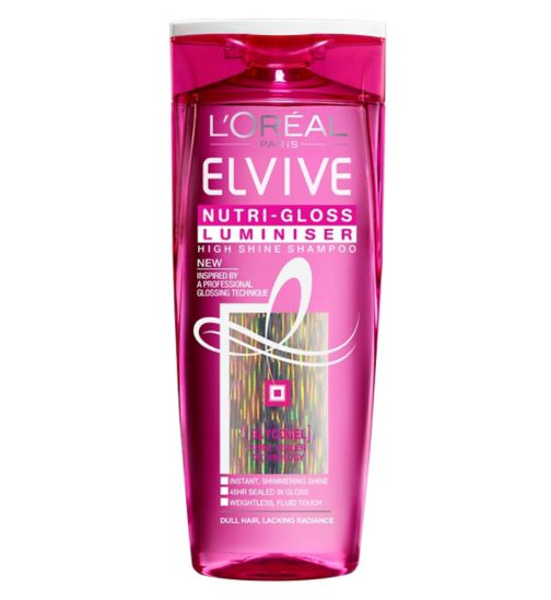 L'Oreal Elvive Nutri-Gloss Luminiser Shampoo 250ml
