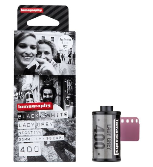 Lomography Lady Grey 40035mm 36exp 3pcs