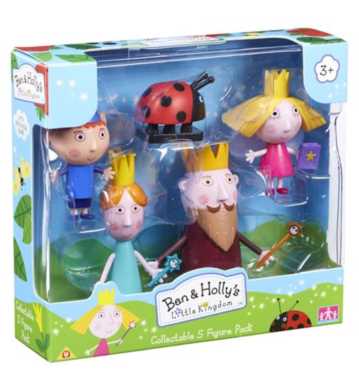 Ben & Holly's Little Kingdom Five Figure Pack