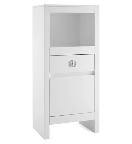 Tutti Bambini Sovereign Tallboy - High Gloss White Finish