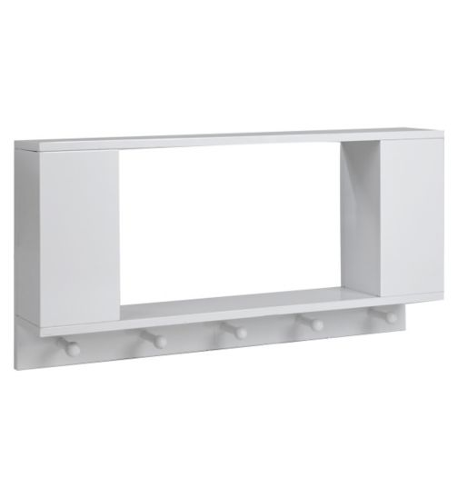 Tutti Bambini Rimini Shelf - High Gloss White Finish