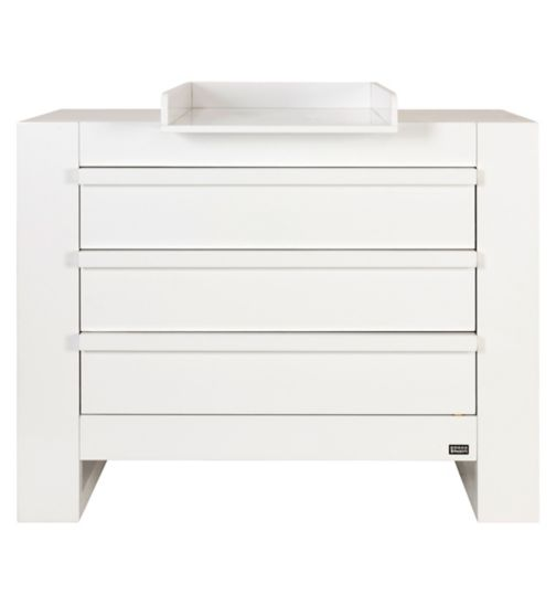 Tutti Bambini Rimini Chest Changer - High Gloss White Finish