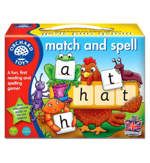 Orchard Games Match and Spell Game