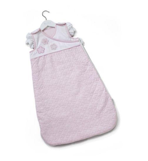 Silver Cross Sleepsuit - Vintage Pink