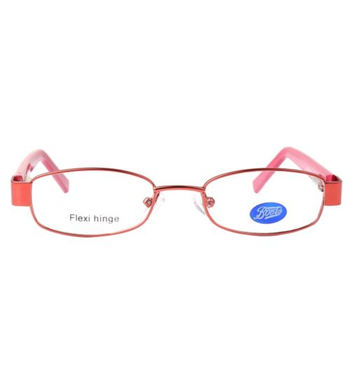 Boots  BKF1413 Kids' Pink Glasses - Free with an NHS Voucher