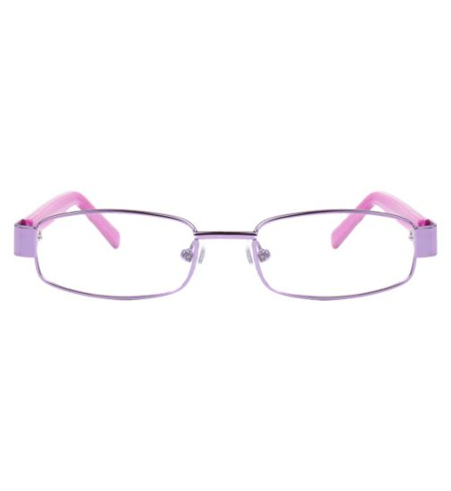 Boots BKF1412 Kids' Purple Glasses - Free with NHS voucher