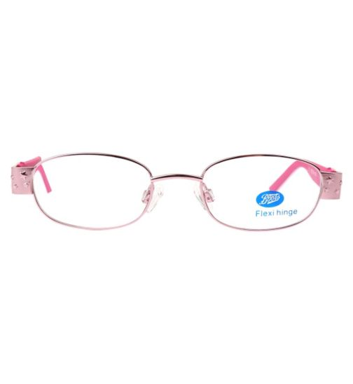 Boots BKF1410 Kids' Pink Glasses - Free with NHS voucher