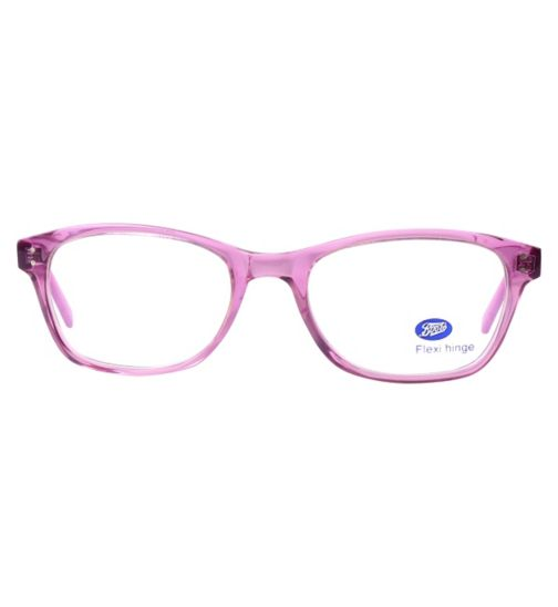 Boots BKF1401 Kids' Purple Glasses - Free with NHS voucher