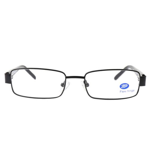 Boots BKM1403 Kids' Black Glasses - Free with NHS voucher