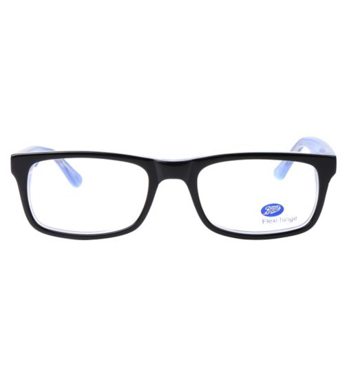 7850ebd5340f Boots BKM1413 Kids  Black Glasses - Free with an NHS Voucher