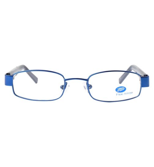 Boots BKM1414 Kids' Blue Glasses - Free with an NHS Voucher