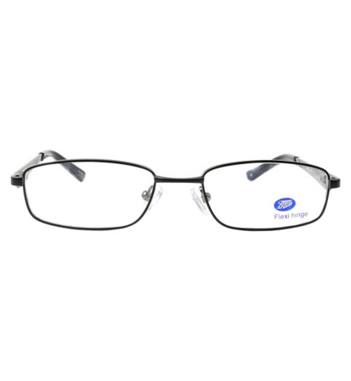Boots BKM1402 Kids' Black Glasses - Free with an NHS Voucher