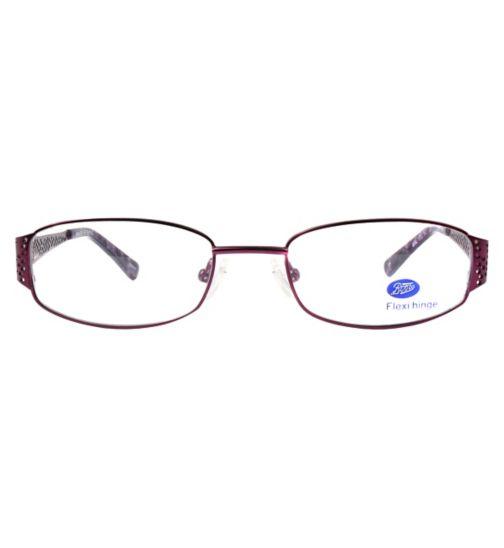Boots BKF1406 Kids' Purple Glasses - Free with an NHS Voucher
