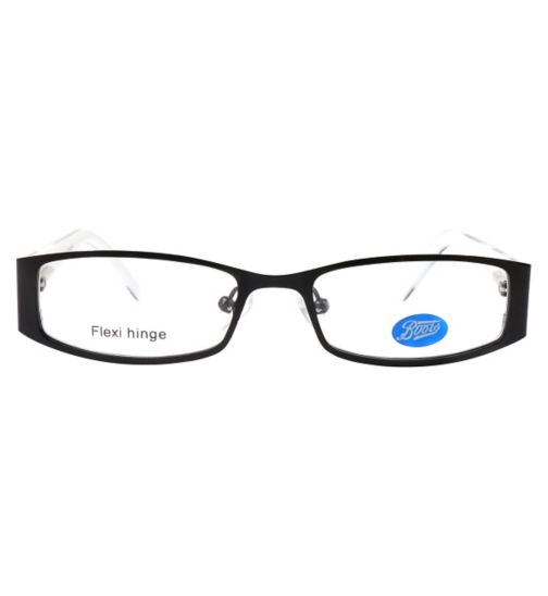 Boots BKF1416 Kids' Black Glasses - Free with an NHS Voucher