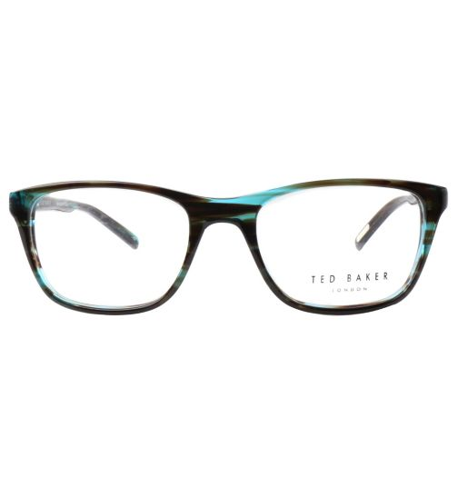 0004820e30 Ted Baker B942 Dobby Kids  Glasses - Green - £80.00 with an NHS Voucher