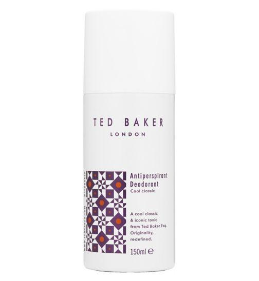 Ted Baker Antiperspirant Deodorant 150ml Cool Classic