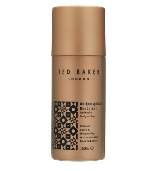 Ted Baker Antiperspirant Deodorant 150ml Refined & invigorating