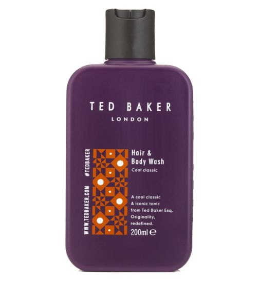 Ted Baker Hair & Body Wash 200ml Cool Classic