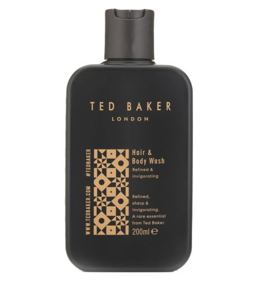 Ted Baker Hair & Body Wash 200ml Refined & invigorating